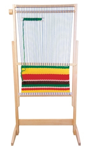 montessori materials large weaving loom set