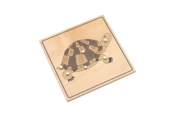 Parts of a Tortoise Puzzle (Premium Quality)