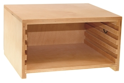 Cabinet for Three Botany Puzzles (Premium Quality)