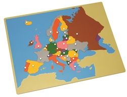Puzzle Map of Europe (Premium Quality)