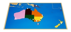 Puzzle Map of Australia (Premium Quality)