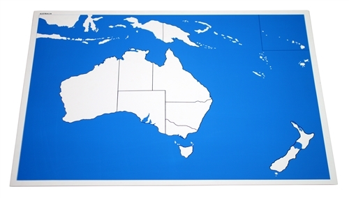 Map Of Australia Unlabelled.Unlabeled Control Chart For Map Of Australia Premium Quality