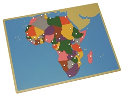 Puzzle Map of Africa (Premium Quality)