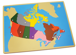 Puzzle Map of Canada (Premium Quality)