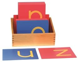 lowercase sandpaper letters