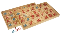 Small Movable Alphabets: D'Nealian (Premium Quality)