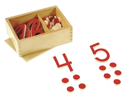 Cut-out numerals with Counters (Premium Quality)
