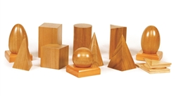 Natural Geometric Solids and Plane Figures (Premium Quality)