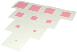 Pink Tower Control Cards (Printed)