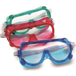 Colored Safety Goggles