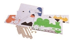 Montessori Materials- Gear Connect Accessories