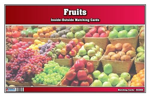 Fruits Inside-Outside Matching Cards