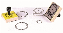 Large Clock Analog Stamp