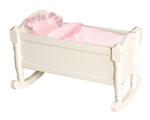 Montessori Materials: Doll Cradle - White