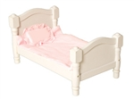 Montessori Materials: Doll Bed - White