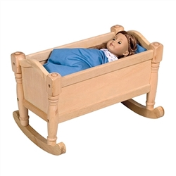 Montessori Materials: Doll Cradle - Natural