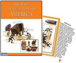 Timeline of Ancient Civilizations of America Research Cards