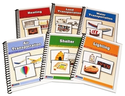 Stages of Progression of Civilization (Printed and Laminated Booklets)