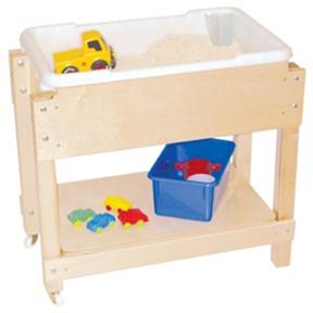 Pee Sand Water Sensory Table With Lid Shelf