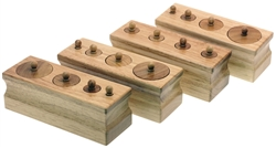 Toddler Knobbed Cylinders Set of Four