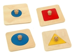 Single Shape Puzzle (Set of 4)