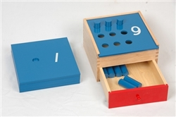 Counting Pegs Box