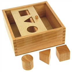 Three Shapes Sorting Box
