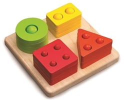 Counting Shape Sorter