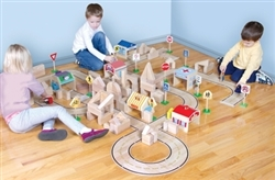 Montessori Materials- Roadway Set 42 Pieces