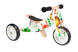 Bamboo Tiny Tot 2-1 Tricycle/Balance Bike - Makii